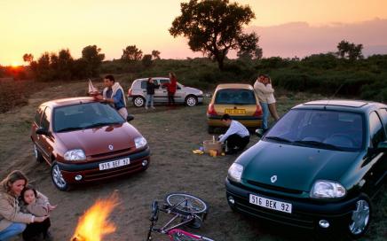 Renault Clio door de jaren heen